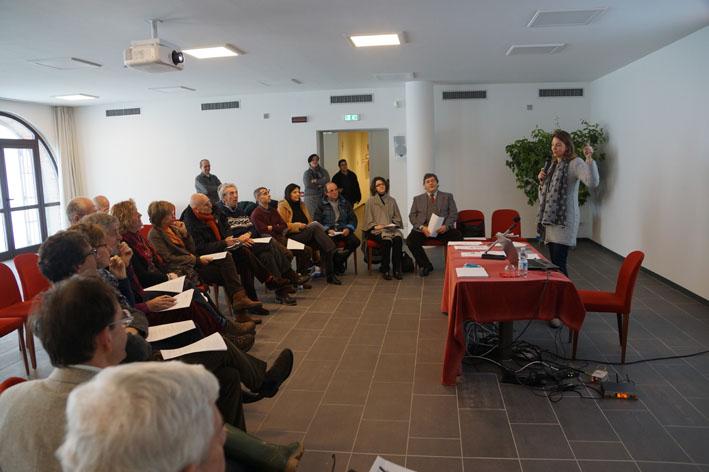 Silvia Tabasso, Vice Presidente Ucid, accoglie i Soci e illustra il programma della giornata