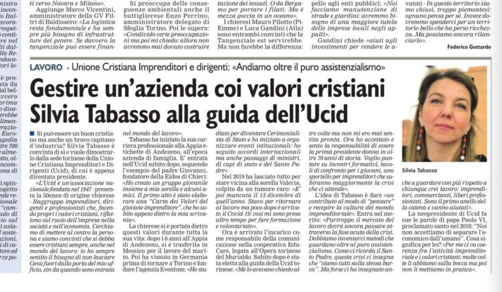 CorriereChieri_SilviaTabasso_2021.03.12